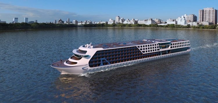 River Cruise Liner