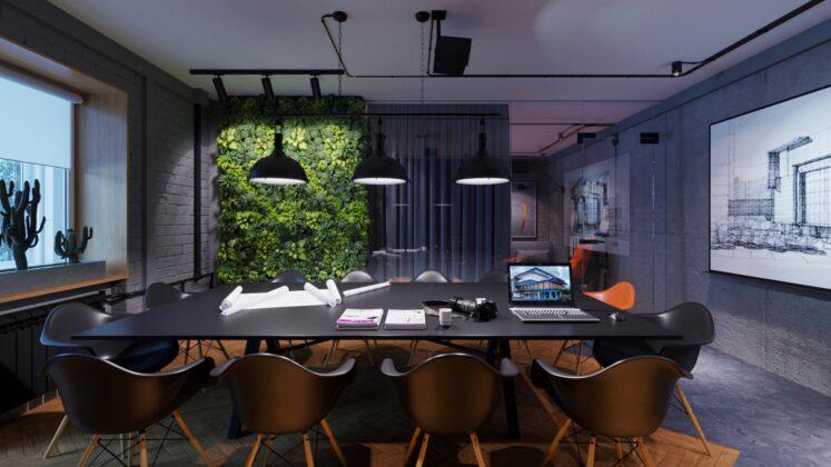 Architectural studio black