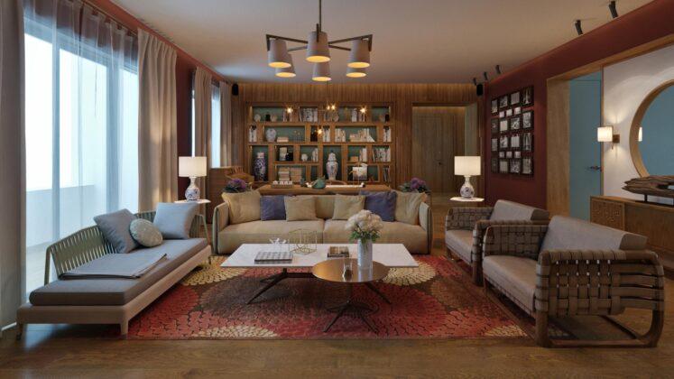 Etnic apartment