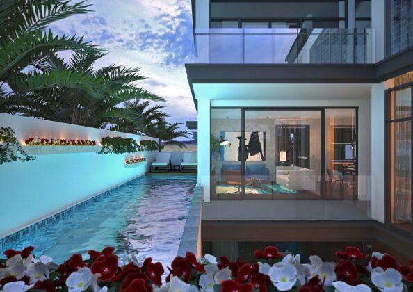 Villa for artist